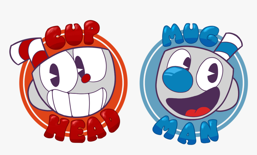Cuphead And Mugman Stickers, HD Png Download, Free Download