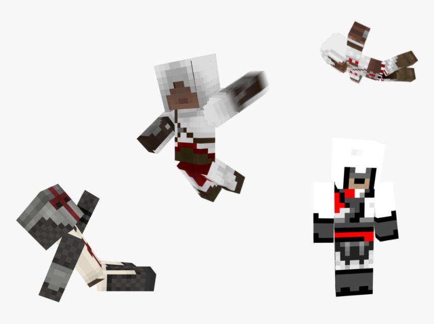 Mine Craft Png , Png Download - Minecraft Assassins Creed Skin, Transparent Png, Free Download