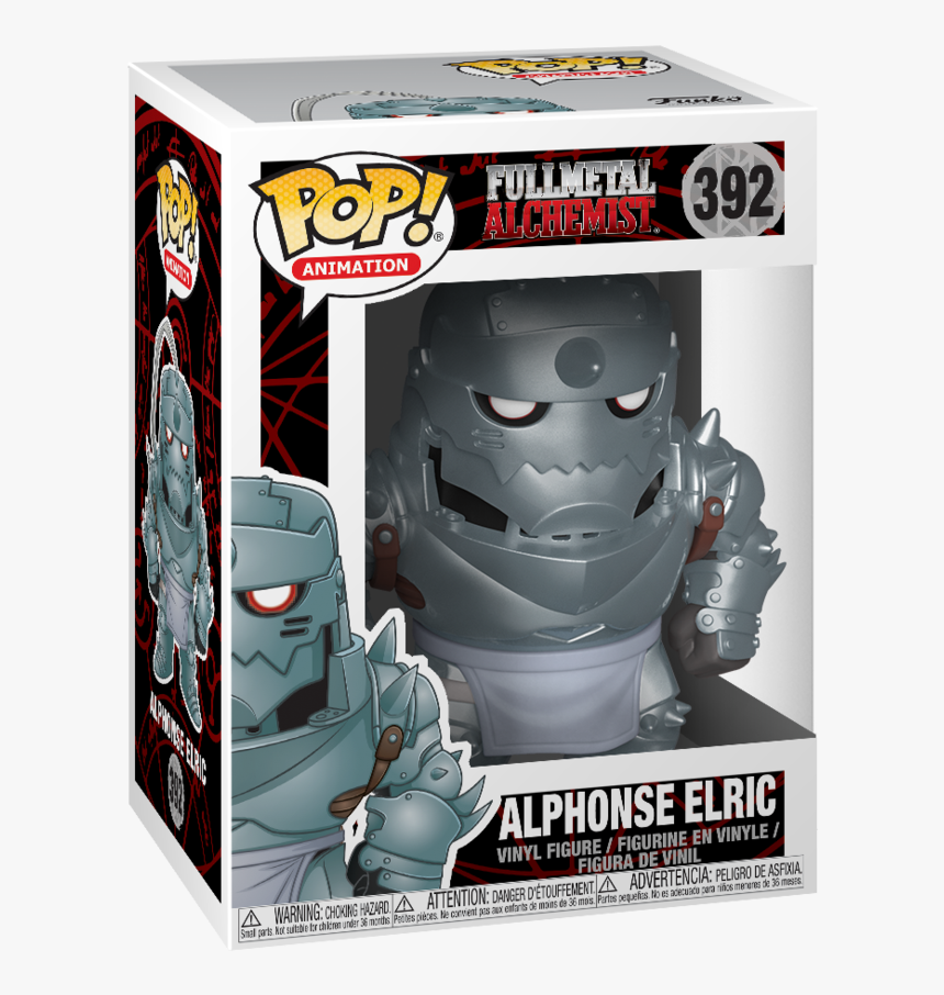 Funko Pop Alphonse Elric, HD Png Download, Free Download