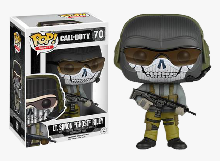 Transparent Cod Ghost Png - Simon Ghost Riley Funko Pop, Png Download, Free Download