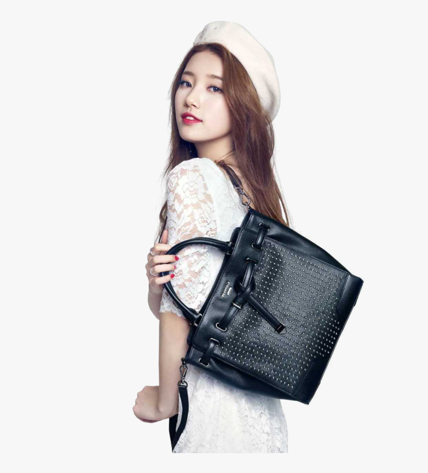 Miss A, Kpop, And Suzy Image - Female Model With Handbag, HD Png Download, Free Download