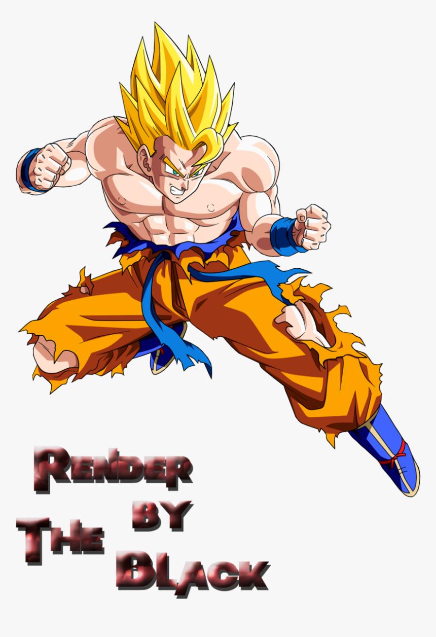 Dragon Ball Z Clipart Goku Super Saiyan - Dragon Ball Z Png, Transparent Png, Free Download