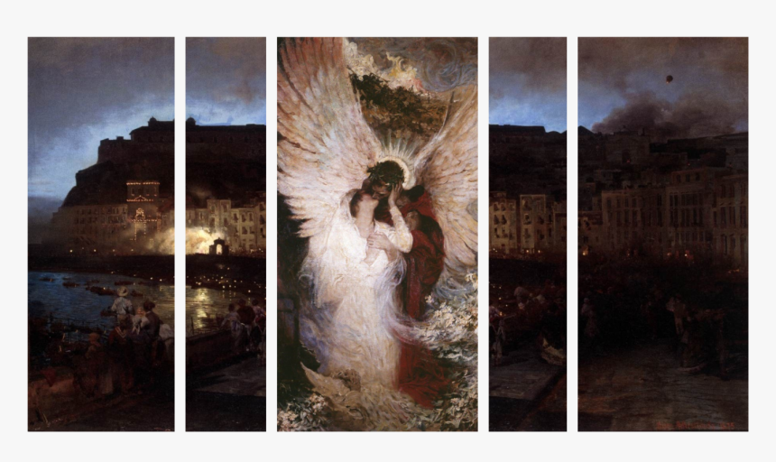 Dean Cornwell Angel, HD Png Download, Free Download