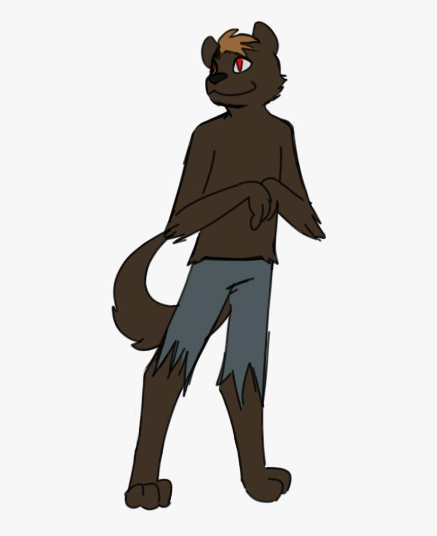 """grian""s Halloween Werewolf Skin Is Really Cute "" @blaze - Illustration, HD Png Download, Free Download"