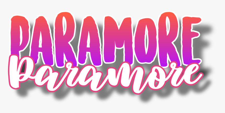 #paramore #freetoedit - Calligraphy, HD Png Download, Free Download