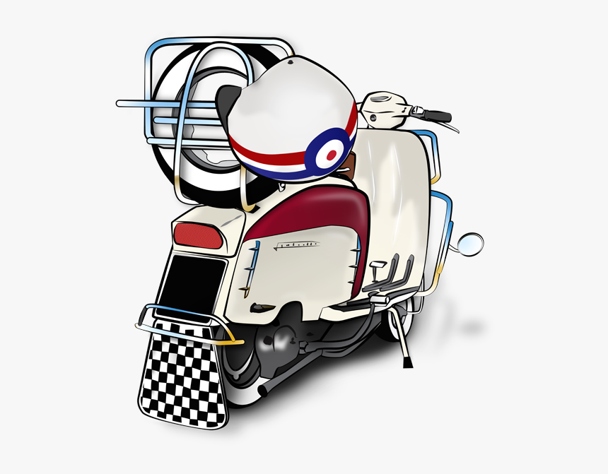 scooter vector art mod lambretta scooter drawing hd png download kindpng mod lambretta scooter drawing hd png