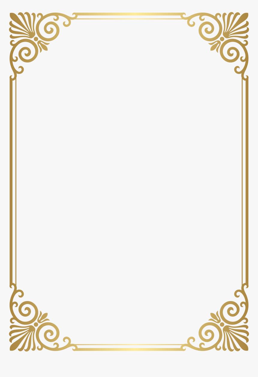 Transparent January Border Clipart - Frame Border Design Png, Png Download, Free Download