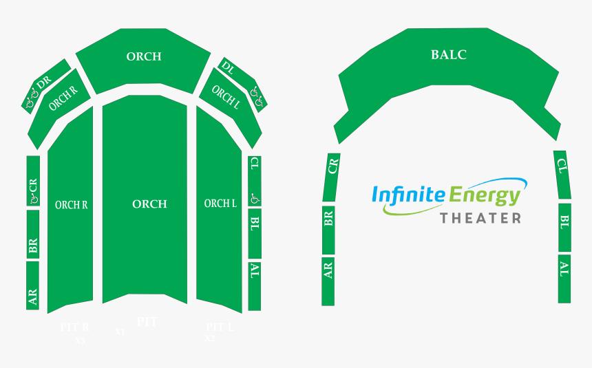 Infinite Energy Center Atlanta Seating Chart Kreeps, HD Png Download, Free Download