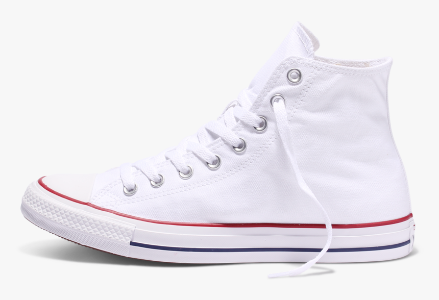 All Star Traditional Hi Top White Canvas - Walking Shoe, HD Png Download, Free Download