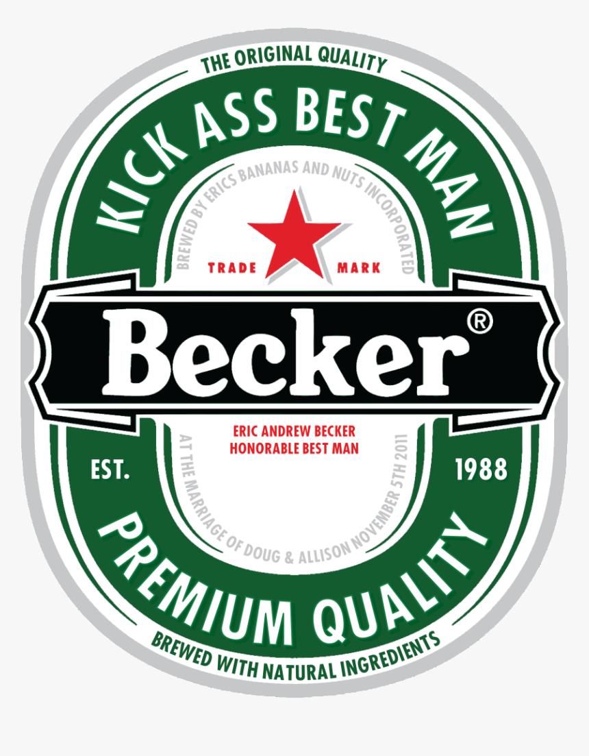 Etiquettes De Bières Heineken , Png Download - Heineken Bier Logo, Transparent Png, Free Download