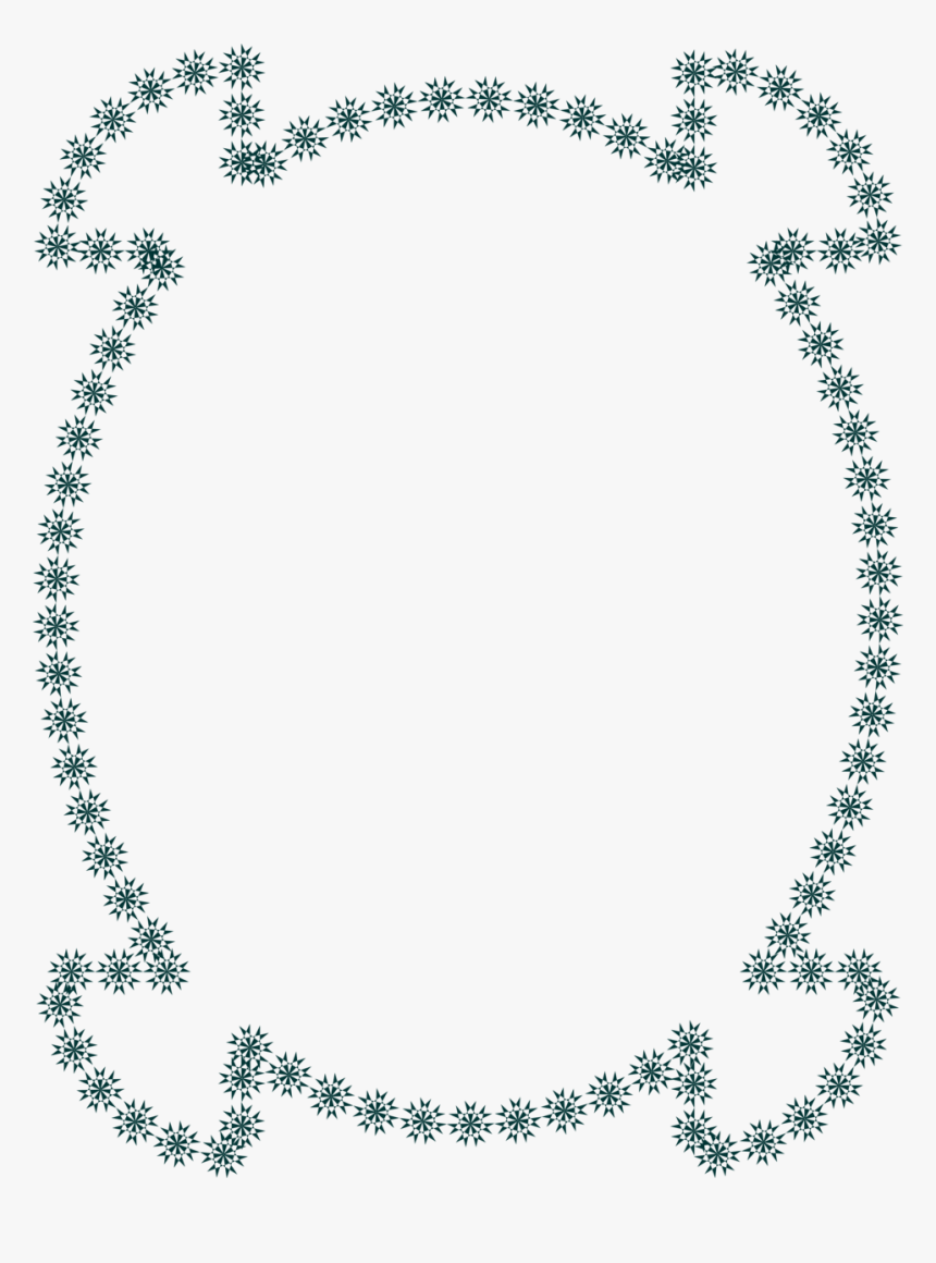 Stars Clip Art Borders Frames - Angelic Swarovski, HD Png Download, Free Download