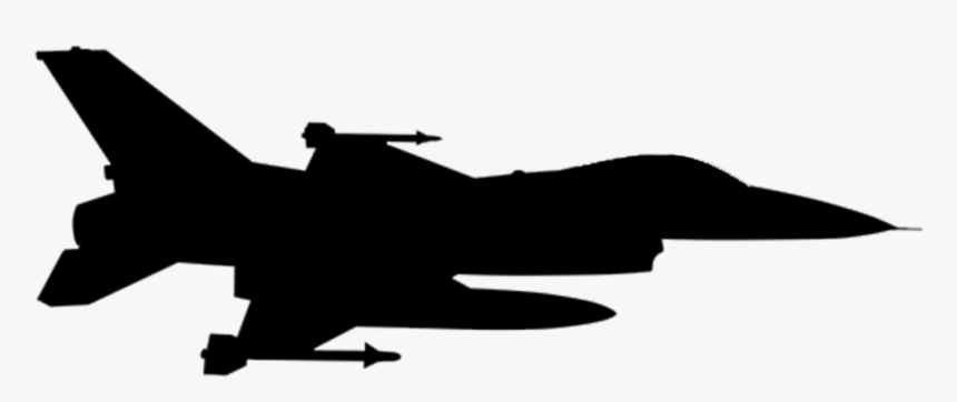 F 16 Png Silhouette Transparent Png Kindpng