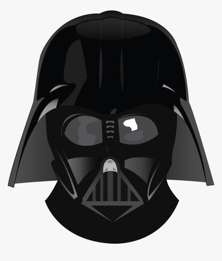 Anakin Skywalker Luke Skywalker Clip Art - Darth Vader Head Png, Transparent Png, Free Download