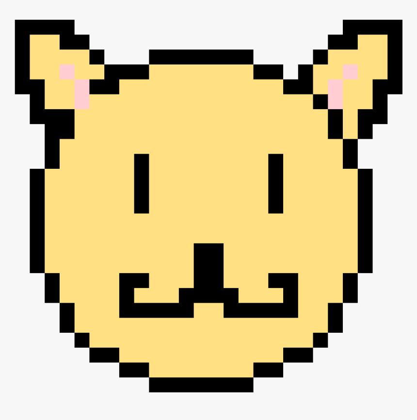 Pixel Art Happy Face , Png Download - Simple Pixel Art Pac Man, Transparent Png, Free Download