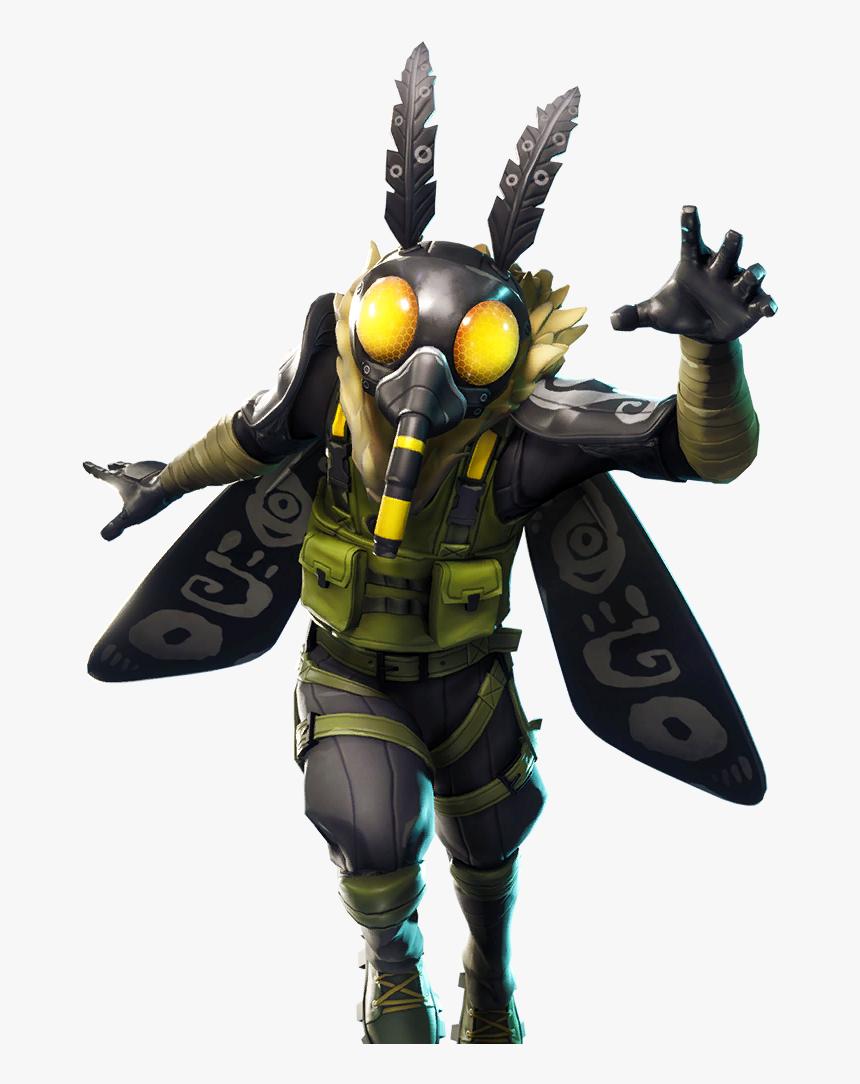 Fortnite Battle Royale Character Png - Fortnite Moth Skin, Transparent Png, Free Download