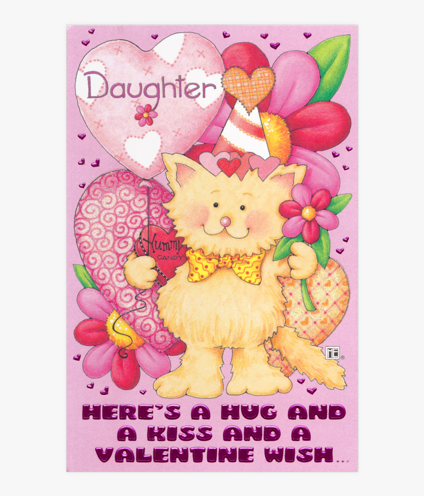 Valentines Day Cards For Daughter, HD Png Download, Free Download