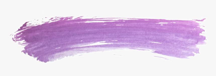 #ftestickers #watercolor #brushstroke #purple - Purple Watercolor Brush Stroke Png, Transparent Png, Free Download