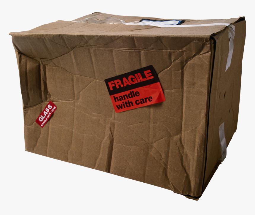 Box Png - Damaged Cardboard Box Png, Transparent Png, Free Download