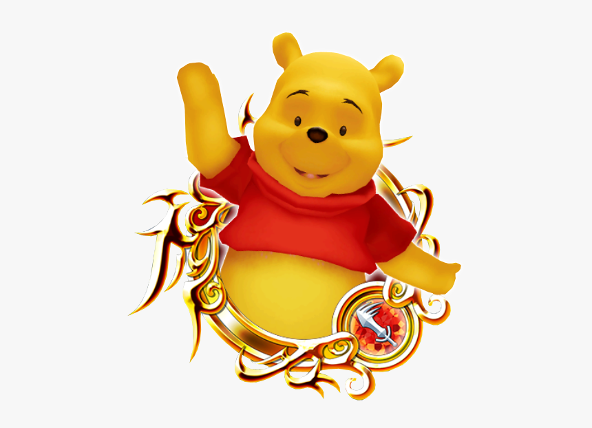 Winnie The Pooh Kingdom Hearts Unchained Wiki - Kingdom Hearts Riku Medal, HD Png Download, Free Download