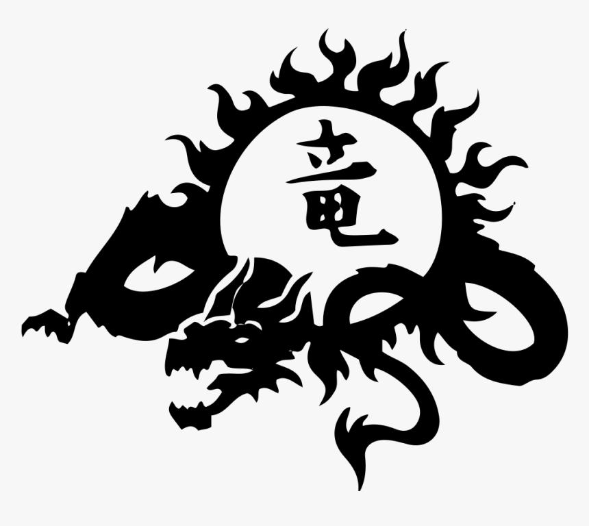 Tattoo Japanese Dragon Chinese Dragon Irezumi - Dragon Henna Tattoo Designs, HD Png Download, Free Download