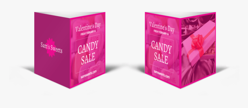 "Valentine""s Day Candy Table Tent Template Preview - Box, HD Png Download, Free Download"
