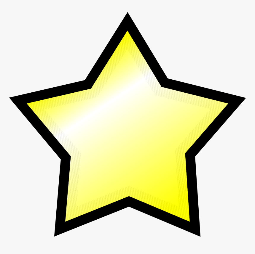 Transparent Small Star Png - Yellow T Shirt In Roblox, Png Download, Free Download