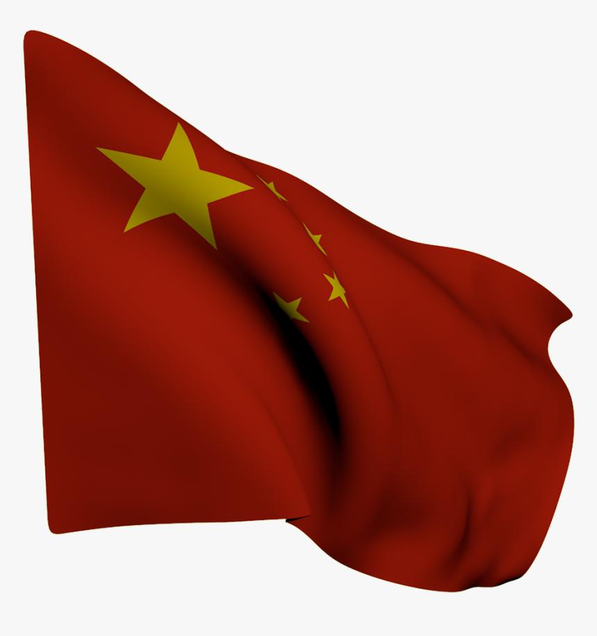 Bandera, China, Roja, Estrellas, Amarillas - China Bandeira Png, Transparent Png, Free Download