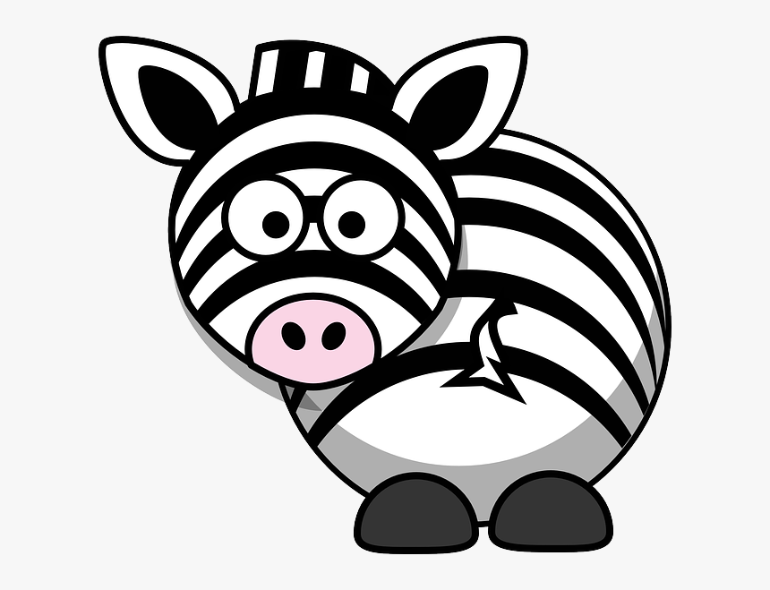 Desenhos Coloridos De Safari Dibujos De Cebras Faciles Hd Png