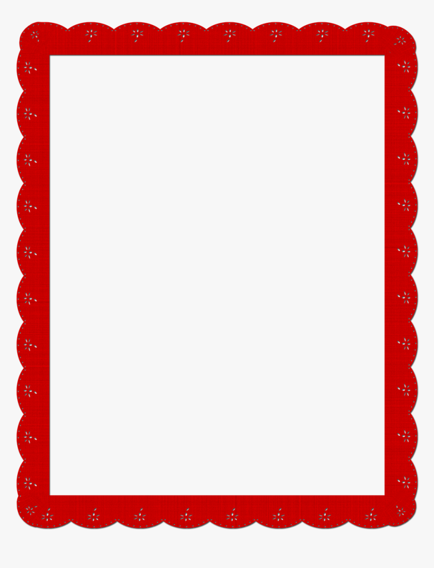 Vintage, Lace, Red, Photo, Frame, Valentine - Picture Frame, HD Png Download, Free Download
