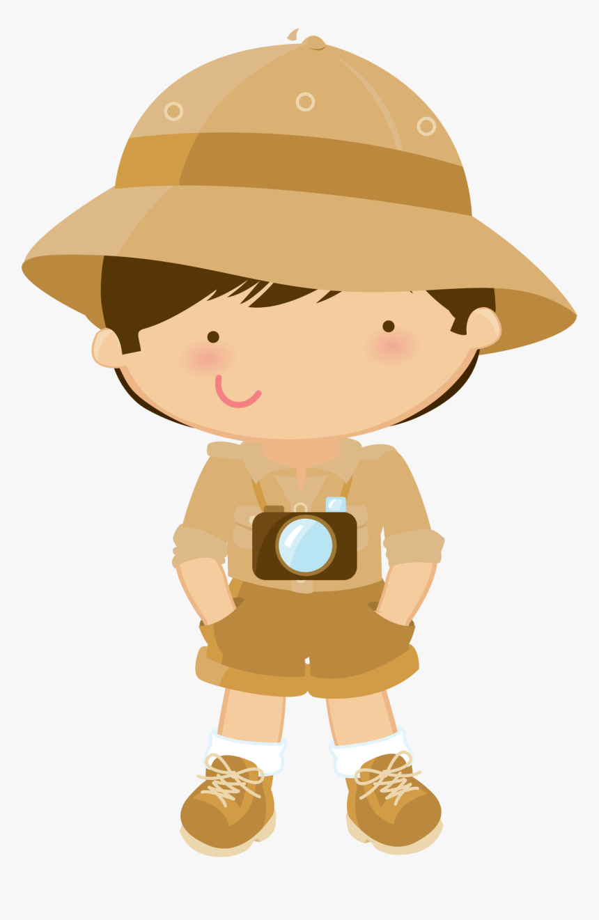 Desenhos Coloridos De Safari Safari Boy Png Transparent Png