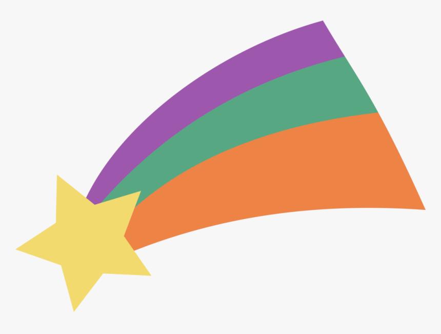 Estrella Fugaz Diseño Plano - Shooting Star Gravity Falls Png, Transparent Png, Free Download