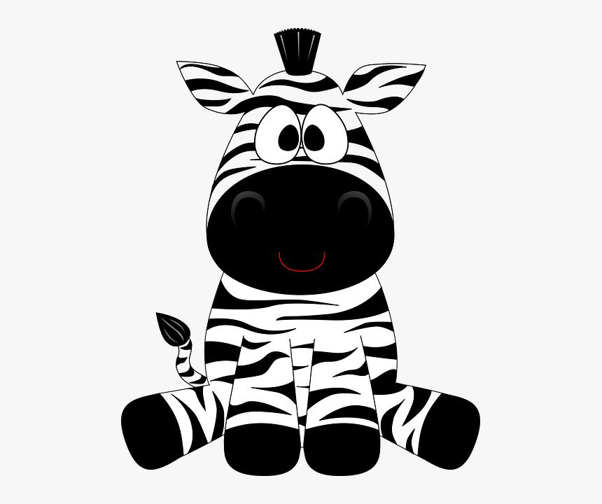 Desenhos Coloridos De Safari Cartoon Zebra Hd Png Download