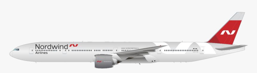 Boeing 777-300er - Nordwind Airlines 777 300er, HD Png Download, Free Download