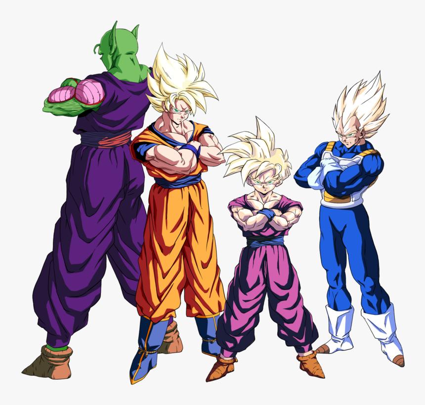 Thumb Image - Dragon Ball Z Piccolo And Goku, HD Png Download, Free Download