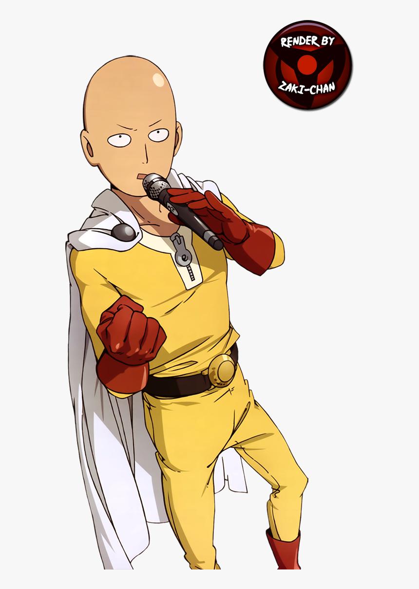 Render Saitama One Punch Man - Saitama Anime, HD Png Download, Free Download