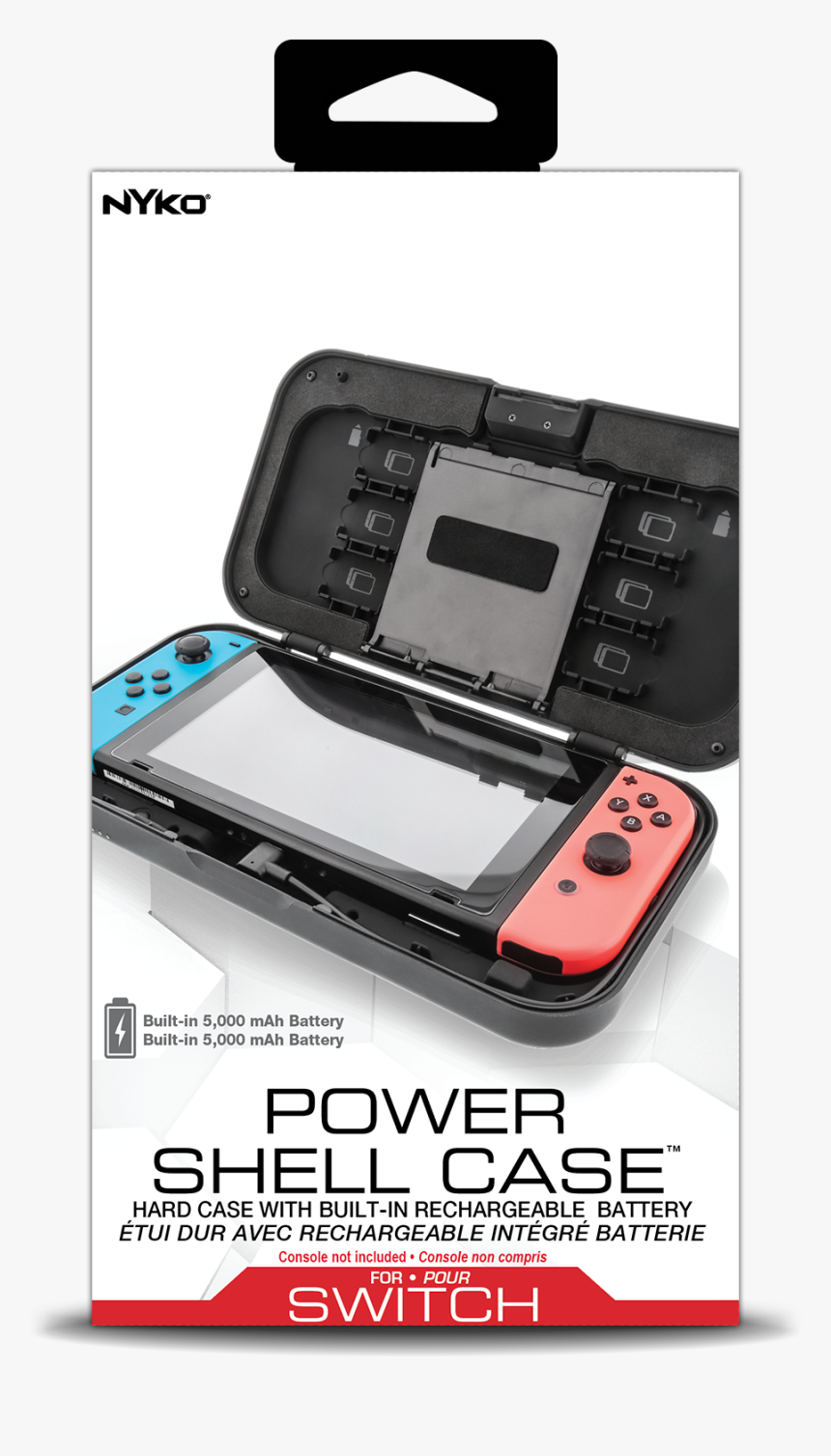 Nintendo Switch Nyko Power Shell Case, HD Png Download, Free Download