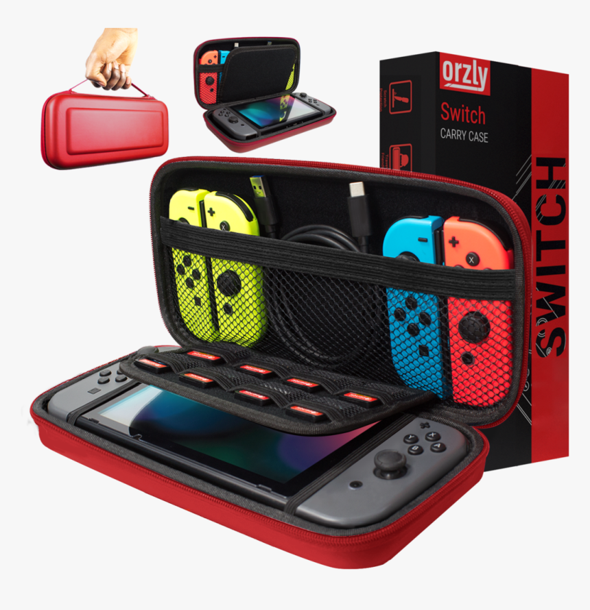 Carry Case For Nintendo Switch - Nintendo Switch Carrying Case, HD Png Download, Free Download