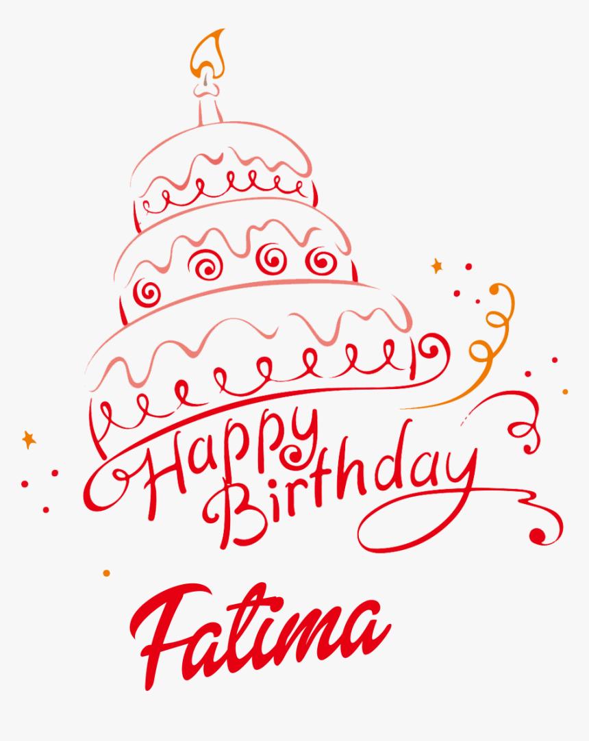 Miraculous Fatima Happy Birthday Vector Cake Name Png Birthday Cake With Funny Birthday Cards Online Elaedamsfinfo