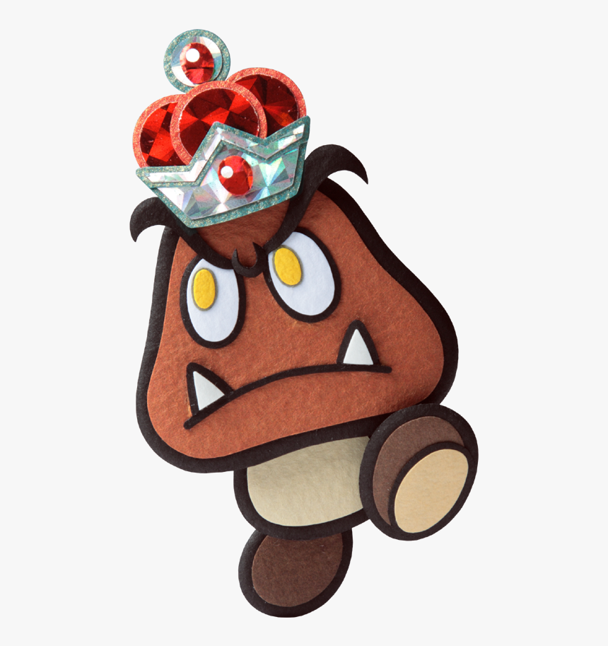 Paper Mario Sticker Star Goomba, HD Png Download, Free Download