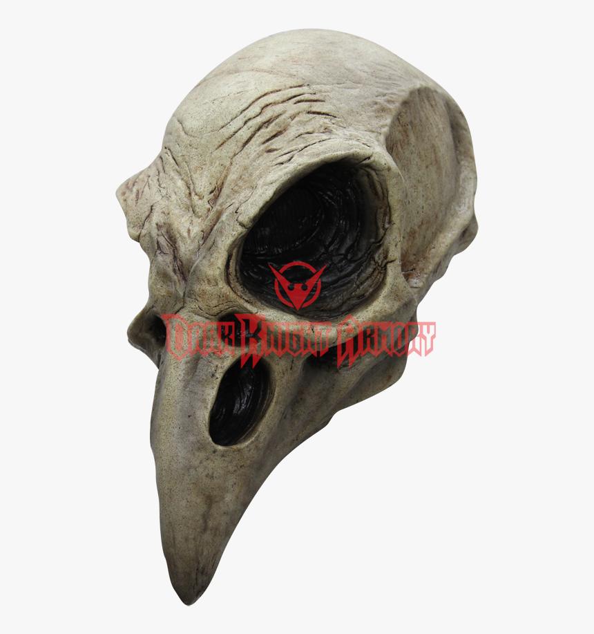 Skull Mask Png - Crow Skull Mask, Transparent Png, Free Download