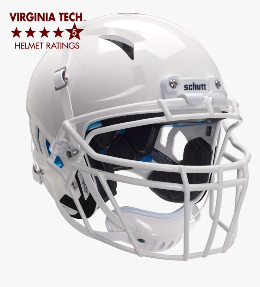 White Football Helmet Adult, HD Png Download, Free Download
