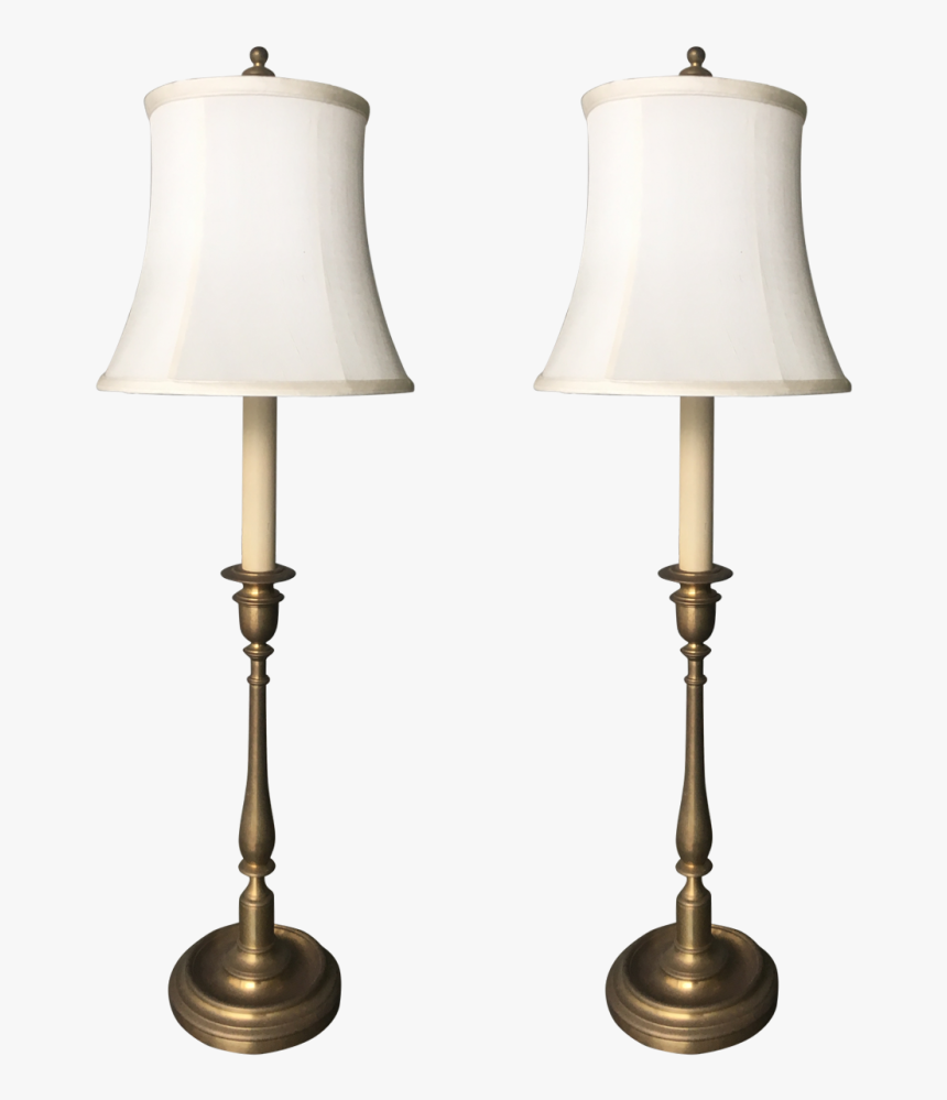 Traditional Lamp Shades Table Lamps Brass Lamp Table - Lampshade, HD Png Download, Free Download