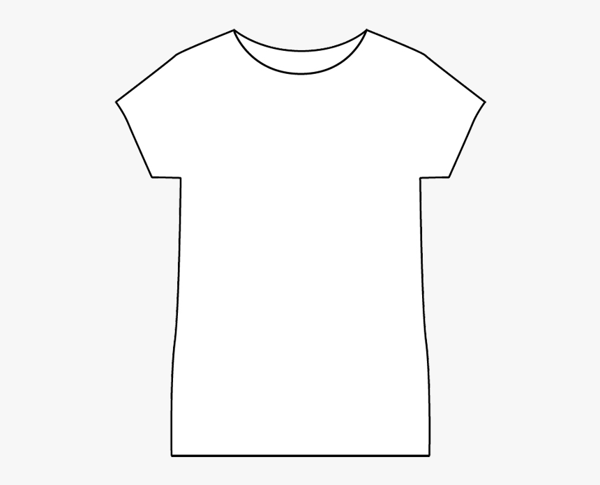 Toddler Girl T-shirt Custom White - Back White T Shirt Template, HD Png Download, Free Download