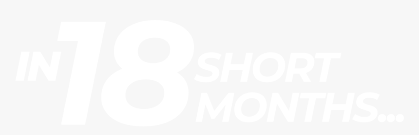 Ws 18 Short Months Graphic - Jhu Logo White, HD Png Download, Free Download