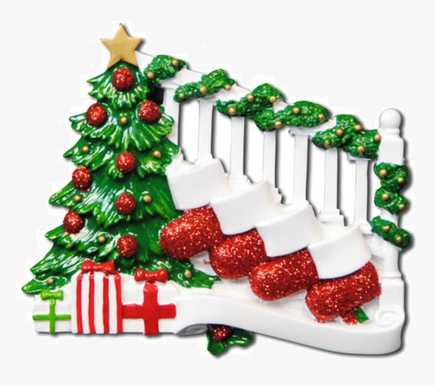 Christmas Stocking Bannister Animated, HD Png Download, Free Download