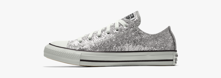 All Star Converse Silver Custom, HD Png Download, Free Download