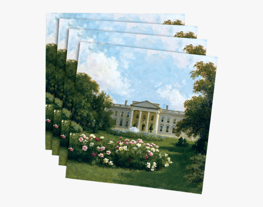 White House 1914 Cocktail Napkins - Rose, HD Png Download, Free Download