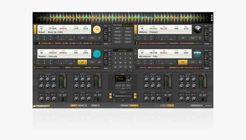 Ultramixer Pro Entertain 6.1 1, HD Png Download, Free Download
