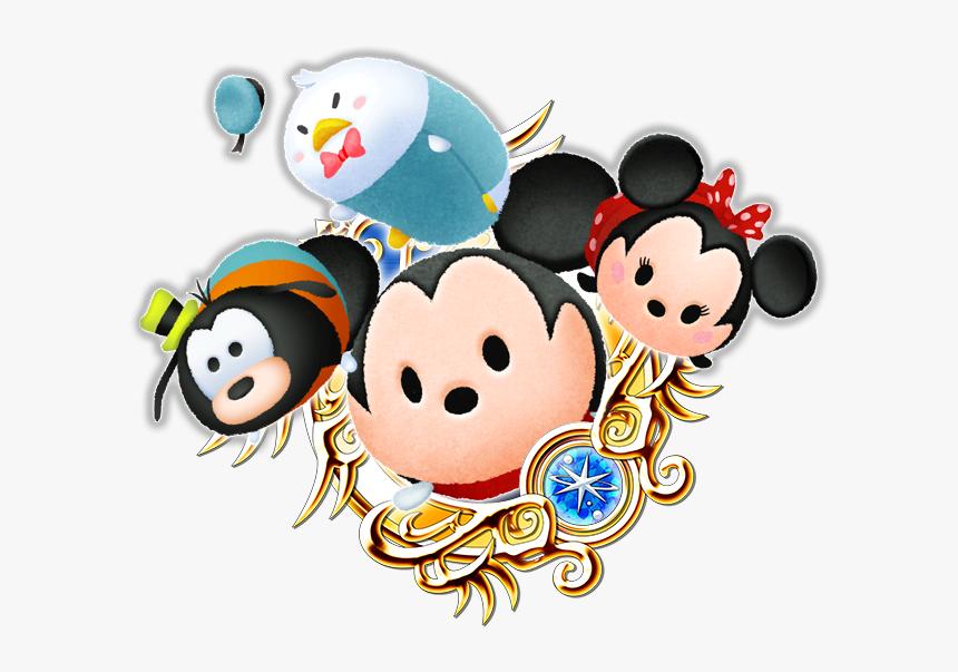 Tsum Tsum Mickey & Pals - Kingdom Hearts Pirate Sora, HD Png Download, Free Download