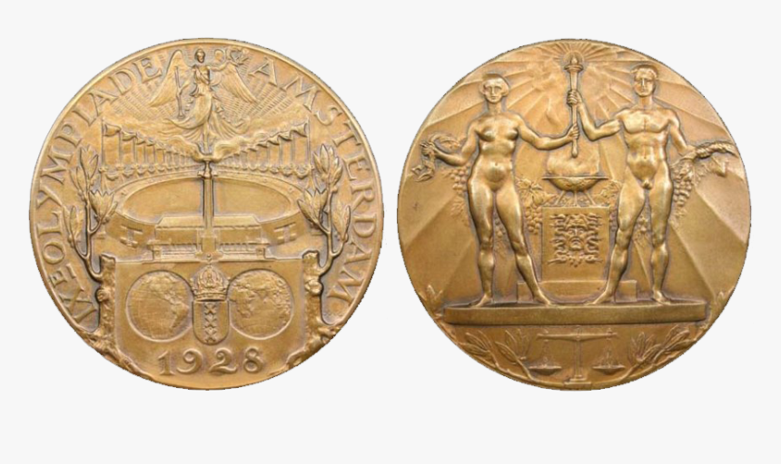 Amsterdam Summer Olympics Participation Medal - 1928 Gold Medal Olympics, HD Png Download, Free Download